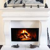 Masonry Fireplace Material